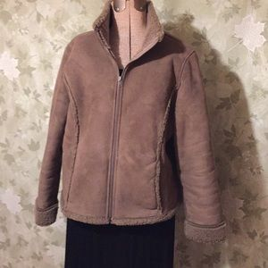 Women's LP LL Bean embroidered jacket